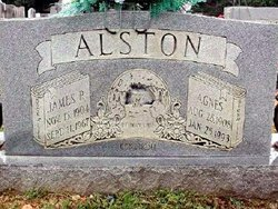 Agnes <i>Logan</i> Alston