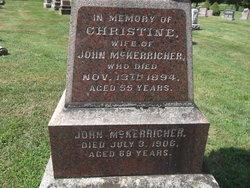 Christine <i>Campbell</i> McKerracher