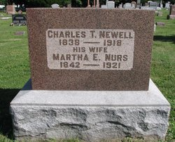 Martha E <i>Nurse</i> Newell