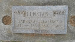 Clarence S Constant