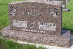 Abraham John Abe Adrian
