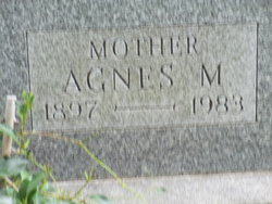 Agnes M <i>Viehmyer</i> Durm