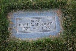 Alice <i>Gabiola</i> Anderson