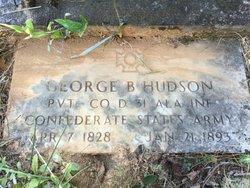 George B Hudson