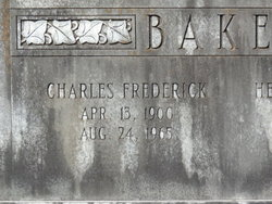 Charles Frederick Baker