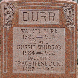 Ezra Walker Durr