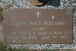 LCpl John Paul Roland