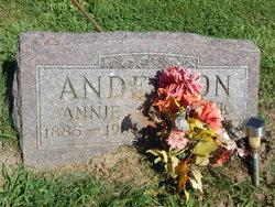 Anna Annie <i>Cox</i> Anderson