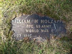 William H Holzapfel