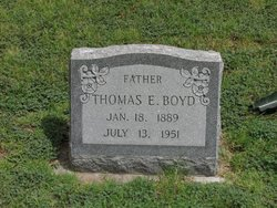 Thomas E Boyd