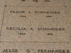 Cecilia A <i>Kneupper</i> Schneider