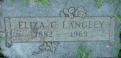 Eliza Hannah <i>Crider</i> Langley