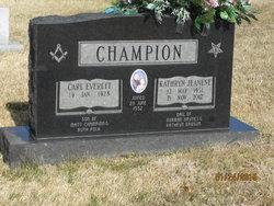 Kathryn Jeanene <i>Haynes</i> Champion