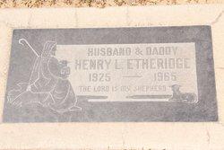 Henry Lloyd Etheridge