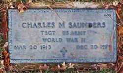 Charles M Saunders