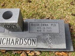 Maude Emm Pud Richardson