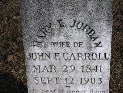 Mary Elizabeth <i>Jordan</i> Carroll