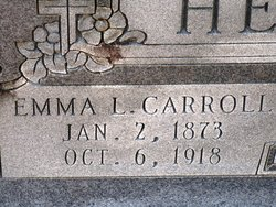 Emma L <i>Carroll</i> Hearne