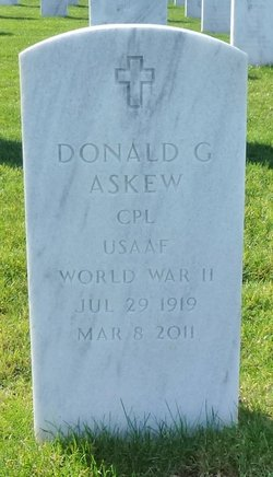 Corp Donald Gilbert Askew