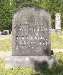 Susan E. <i>Hamner</i> Roberson