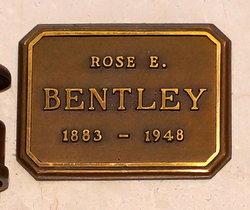 Rose Etta <i>Snyder</i> Bentley