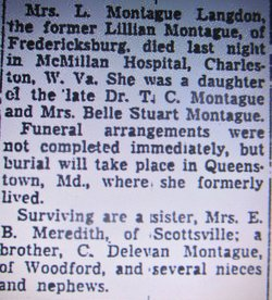 Lillian Montague Langdon