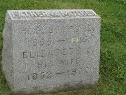 Elizabeth Jane <i>McWilliams</i> Danford