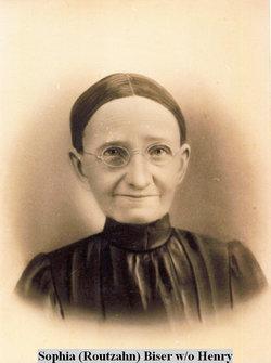 Sophia <i>Routzahn</i> Biser