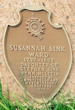 Susan <i>Sink</i> Ward