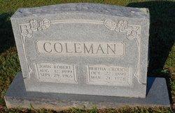 Adoniran Bertha <i>Crouch</i> Coleman