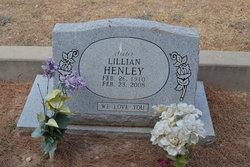 Lillian <i>Glenn</i> Henley