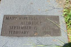 Mary Virginia <i>Chaffin</i> Aldridge
