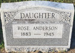 Rose Wagner Anderson