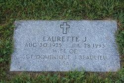Laurette J <i>Fontaine</i> Beaulieu