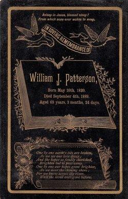 William J Patterson