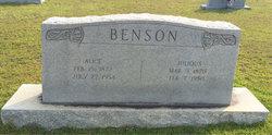 Alice L. <i>Jones</i> Benson
