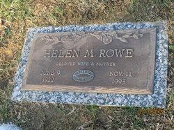 Helen <i>Fluty</i> Rowe