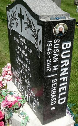 Susan Marie Sweet Sue <i>Garrett</i> Burnfield