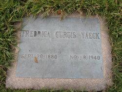 Fredrica <i>Curtis</i> Yaeck