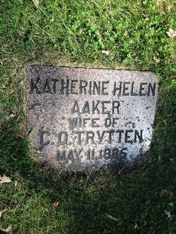 Katherine Helen <i>Aaker</i> Trytten