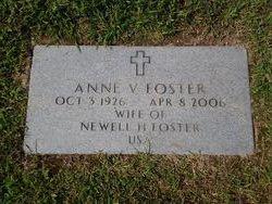 Anne V Foster