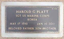 Harold G Platt