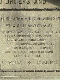 Georgeanna Muirson <i>Woolsey</i> Bacon