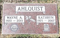Wayne Alfred Ahlquist