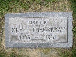 Oral Inez Thackeray