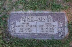 Sarah Maudella <i>Larsen</i> (Nelson) Mangelson