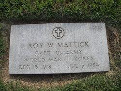 Roy Wolf Mattick
