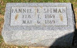 Fannie E Sitman
