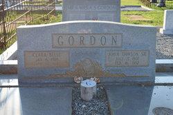 Clara Belle <i>Polk</i> Gordon