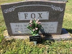 Cynthia Lou Cindy <i>Fox</i> McJonathan